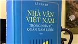 Nhà văn Lê Văn Ba (kỳ 2): Cần phục dựng không gian văn chương Hà Nội thời tạm chiếm