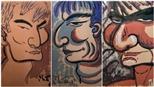 Chân dung 'Giải thưởng Lớn' Nguyễn Bá Đạm qua bộ tranh ký họa vô giá của Bùi Xuân Phái