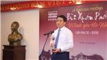 Trao giải Bùi Xuân Phái - Vì tình yêu Hà Nội 2019: Một Hà Nội vẫn đang truyền cảm hứng lớn trong hội nhập, sáng tạo
