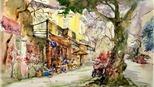 Hà Nội qua nét vẽ của hơn 300 họa sĩ đến từ 18 quốc gia