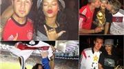 Rihanna bay đêm cùng tuyển thủ Đức
