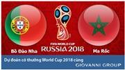 Dự đoán có thưởng World Cup 2018: Trận Bồ Đào Nha – Marocco