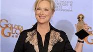 """8 lần giành Quả cầu Vàng """"Bà đầm thép"""" Meryl Streep vẫn """"run"""""""