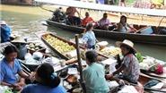Ghi ở chợ nổi Bangkok