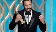 Đạo diễn xuất sắc của Quả Cầu Vàng Ben Affleck: Tự hào vì... bị bẽ mặt