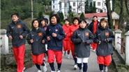 Đội tuyển bóng đá nữ QG rèn thể lực tại Tam Đảo