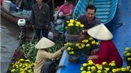 Chợ nổi Cái Răng rực rỡ đón Tết