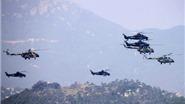 Trung Quốc tập trận bắn đạn thật ở Tứ Xuyên