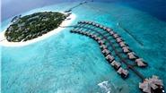 Pose ảnh cùng nước, tận hưởng kì nghỉ tại thiên đường biển Maldives