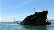 Cứu hộ tàu chở hơn 3.000 tấn hàng bị chìm trên vùng biển Ninh Thuận
