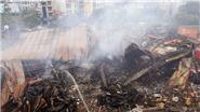 Hà Nội: Cháy lớn thiêu rụi siêu thị Thành Đô