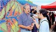 Khánh thành đoạn gốm của họa sĩ Chile trên 'Con đường gốm sứ'