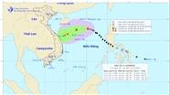 Cập nhật bão số 13: Bão giật cấp 11 đang đi vào vùng biển Quảng Trị đến Quảng Ngãi