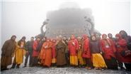 Đại tượng Phật A Di Đà lớn nhất Việt Nam được khai quang trên đỉnh Fansipan