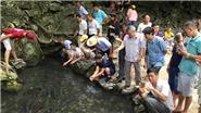 Về xứ Thanh, thăm suối cá thần Lương Ngọc