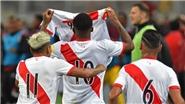 Peru giành vé cuối cùng dự World Cup 2018