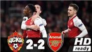 Video bàn thắng trận CSKA Moscow 2-2 Arsenal: Welbeck lại rực sáng