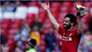 Salah xếp thứ 6, Ronaldo không có tên trong danh sách những cầu thủ hay nhất châu Âu