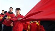 Tiến Dũng và những khoảnh khắc ấn tượng khi thượng cờ tại Fansipan