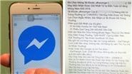 Tin nhắn lừa đảo trên Facebook ngày càng khó lường