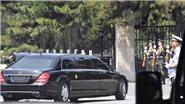 Đoàn xe hộ tống đưa nhà lãnh đạo Triều Tiên Kim Jong-un về nhà khách Điếu Ngư Đài, Trung Quốc