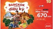 AirAsia mở đường bay Nha Trang - Bangkok