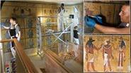'Choáng' với những bích họa 3000 tuổi trong lăng mộ vị Pharaoh huyền thoại Tutankhamun