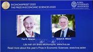 Nobel 2020: Nghiên cứu về thuyết đấu giá đoạt giải Nobel Kinh tế mang lại lợi ích xã hội to lớn