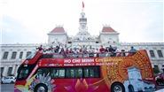 Khai trương tuyến xe buýt du lịch mui trần tham quan Thành phố Hồ Chí Minh