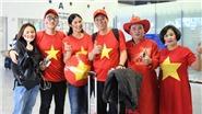 Hoa hậu Ngọc Hân đến Dubai cổ vũ Đội tuyển, dự đoán Việt Nam sẽ thắng 1-0