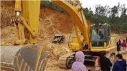 Đình chỉ việc khai thác đất sau khi xảy ra tai nạn làm một người chết tại huyện Quốc Oai