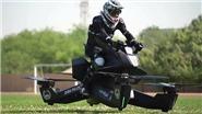 VIDEO: Xem cảnh sát Dubai cưỡi mô tô bay đầu tiên trên thế giới