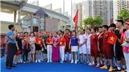Giao hữu bóng đá giữa người Việt tại Hong Kong và Macau