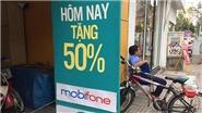 Đổ xô nạp thẻ điện thoại để hưởng khuyến mãi 50% lần cuối