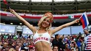 CĐV Nga nóng bỏng nhất World Cup là sao... phim khiêu dâm