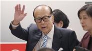 Người giàu nhất Hong Kong Lý Gia Thành tuyên bố nghỉ hưu