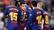 Video bàn thắng Barcelona 5-1 Villarreal: Dembele toả sáng hơn cả Messi