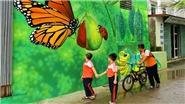 VIDEO: Ngỡ ngàng với những bức bích họa tuyệt đẹp tại làng Chử Xá, Hà Nội