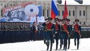 Xem Lễ diễu binh Ngày Chiến thắng phát xít trên Quảng trường Đỏ, Nga
