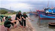 Bão số 4 đổ bộ các tỉnh Nghệ An đến Quảng Bìnhvà suy yếu