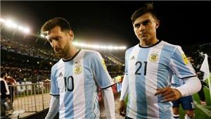 NÓNG: Messi có nguy cơ lỡ hẹn với World Cup 2018