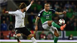 Video clip highlights bàn thắng trận Bắc Ireland 1-3 Đức