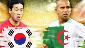Thông tin thú vị trận Hàn Quốc - Algeria 2-4: Đội châu Phi đầu tiên ghi được 4 bàn trong 1 trận ở World Cup