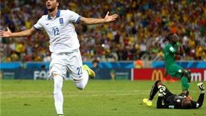 Bảng C: Colombia vùi dập Nhật Bản. Samaras đưa Hy Lạp vào vòng 1/8