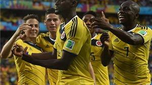 Nhật Bản 1-4 Colombia: 'Song sát' Rodriguez-Martinez  tiễn các Samurai về nước