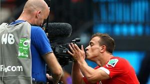 Xherdan Shaqiri, cầu thủ thứ hai lập hat-trick ở Brazil: Hãy đến, và mang tôi đi!