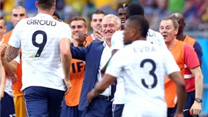 Đội tuyển Pháp: Màu xanh lam ấm áp