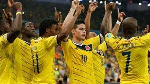 Mừng chiến thắng, cầu thủ Colombia biến bàn ăn thành sân khấu âm nhạc