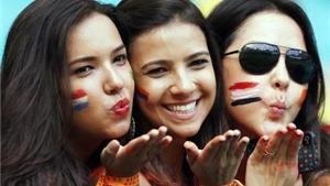 Mỹ nhân Costa Rica hút hồn khán giả World Cup