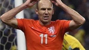 Robben và van Persie chỉ còn là cái bóng từ vòng knock-out